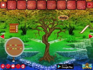Игра Escape Game Save The Dead Tree