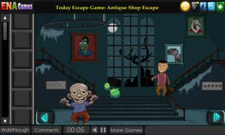 Игра Escape From Zombies