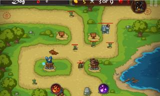 Игра Tower defense D