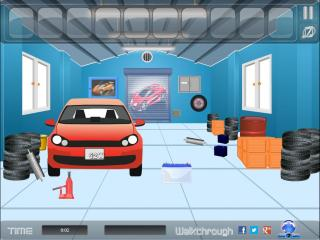 Игра Garage Escape