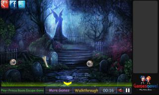 Игра Graveyard Halloween Escape