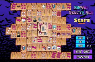 Игра Mahjong Monster High фото