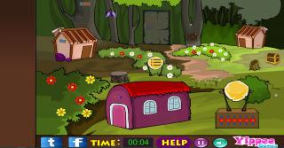 Игра Yippee Garden Escape