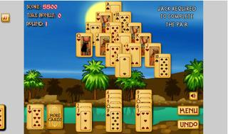 Pyramid Solitaire : Ancient Egypt