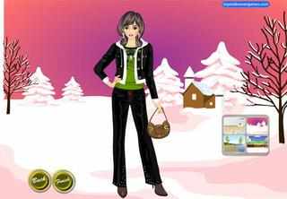 Winter Style Dress Up