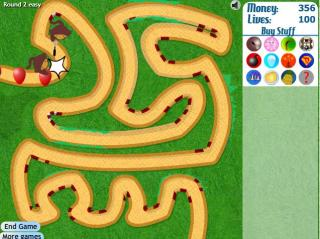 Игра Bloons Tower Defense 3