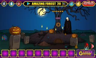 Игра Halloween Scary Ghost Rescue фото