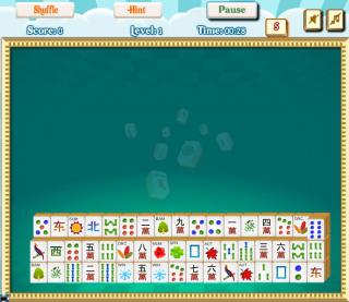 Игра MAHJONG RAIN OF TILES фото