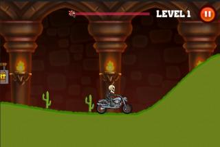 Игра Motor bike hill racing 2D
