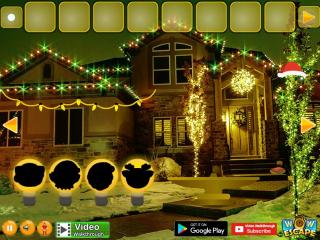 Игра Christmas Lights Street Escape фото