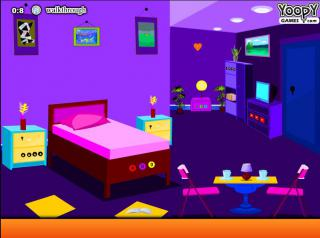 Игра Violet Living Room Escape