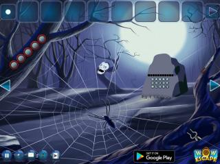 Игра Black Widow Spider Forest Escape