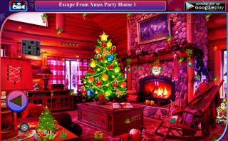 Игра Escape From Xmas Party House 1
