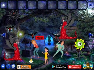 Игра Rescue The Village From Vampire