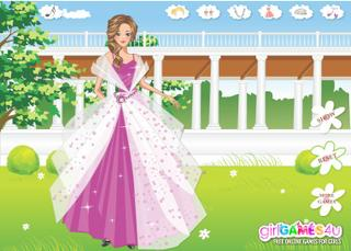 Игра Princess in Her Garden
