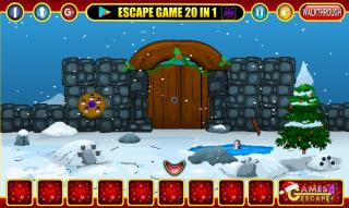Игра Xmas Snow Hills Escape