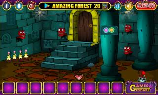 Игра Cursed Mystery Fort Escape