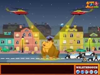 Игра King Kong City Escape