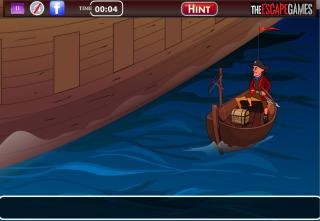 Игра Gold Escape From Ship