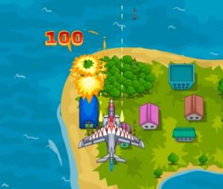 Игра Air force attack (атака ВВС)