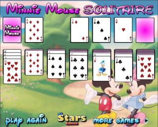 Minnie Mouse Solitaire