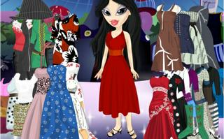 Sheridan Bratz Dress Up Game
