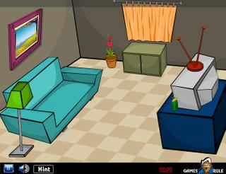 Игра Room Escape - TV Room