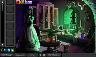 Игра Escape From Witch House