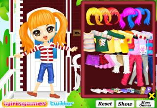Игра Girl Beautiful Outfit Flash фото