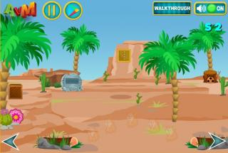 Игра Escape Sand House