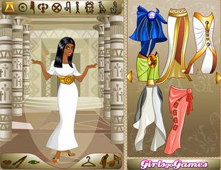 Игра Egyptian Queen Dress Up фото
