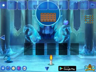 Игра Magic Ice Castle Escape