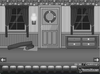 Grayscale Escape Christmas