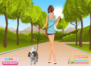 Dog Lover Dress Up