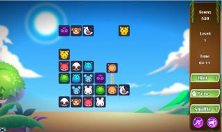 Игра ANIMALS CONNECT 3 фото