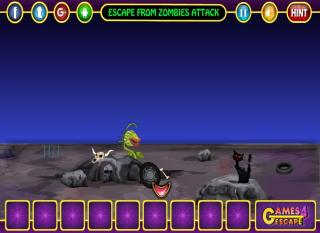 Игра Escape From Zombies Attack