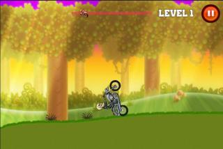 Игра Motor bike hill racing 2D фото
