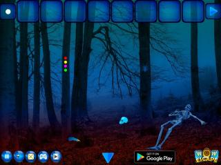 Игра Escape Game Skeleton Forest