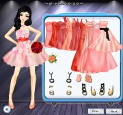 Coral Bridesmaid Dresses на FlashRoom