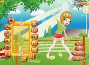 Funky Tennis Girl на FlashRoom
