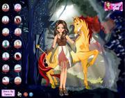 Unicorn And Fairy на FlashRoom