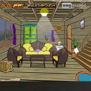 Wooden House Diamond Escape