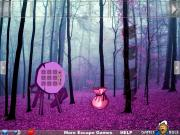 Игра Fantasy Purple Forest Escape фото
