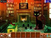 Игра Дом хеллоуинских кошек на FlashRoom