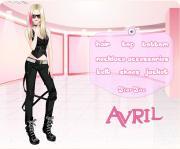 Avril Lavigne Style на FlashRoom