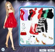 Organza Ruffle Dresses на FlashRoom