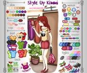 Style Up Kimmie на FlashRoom