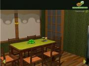 Green Living Room на FlashRoom