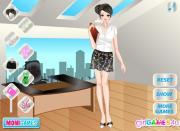 Secretary Girl Dress Up на FlashRoom