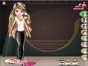 Эвери скейтбордистка на FlashRoom
